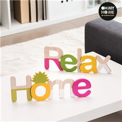 Oh My Home Wooden Sign (Pack of 2)