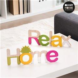 Panneau en Bois Oh My Home (Pack de 2)