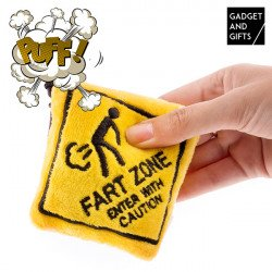 Chaveiro Fart Zone Gadget and Gifts