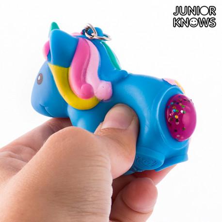 Junior Knows Squeeze Einhorn Schlüsselanhänger