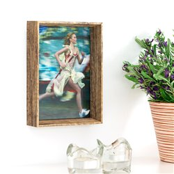 Pure Style Wooden Photo Frame (1 Photo)