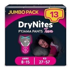 Confezione di Slip da Bambina DryNites Pyjama Pants Teen (13 uds)