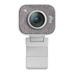 Webcam Logitech 960-001297 Full HD 1080P 60 fps Bianco