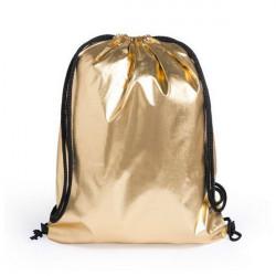 Saco Mochila com Cordas 145580 Dourado