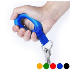 Porta-chaves Anti-stresse Vermelho