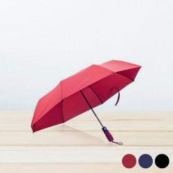 Faltbarer Regenschirm (Ø 98 cm) 143553 Schwarz