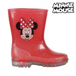 Bottes en Caoutchouc pour Enfants avec LED Minnie Mouse 73498 Rouge 24