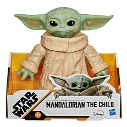 Personaggi d'Azione Star Wars Mandalorian Baby Yoda Hasbro (16 cm)