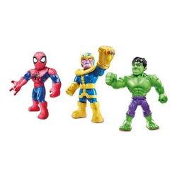 Personaggi Avengers Sha Mega Mighties Hasbro (3 uds)