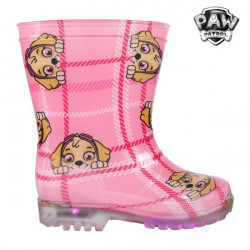 Children's Water Boots with LEDs The Paw Patrol 73480 Pink 29