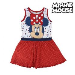 """Vestido Minnie Mouse 71969 Vermelho """"4 anos"""""""