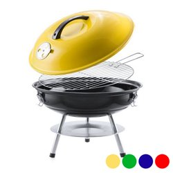 Barbecue Portable (Ø 36 cm) 144504 Rouge