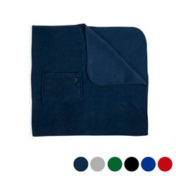 Fleece-Decke (85 x 115 cm) 145744 Blau