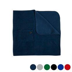 Fleece-Decke (85 x 115 cm) 145744 Marineblau