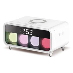 Réveil Daewoo DCD-250 LED Blanc