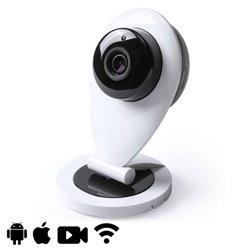 Videocamera di Sorveglianza HD WIFI 145321 Bianco