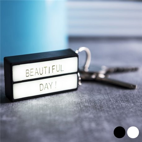 Keychain Lightbox LED (75 pcs) 145990 Black