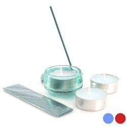 Candle & Incense Set (6 pcs) 149944 Blue