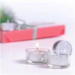 Candle Set (8 pcs) 145166 Red