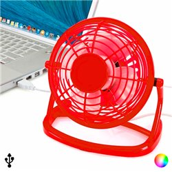 Mini Fan with USB for Computer 144389 Blue