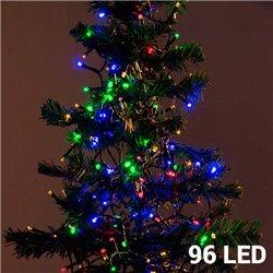 Lumières de Noël Multicouleur (96 LED)