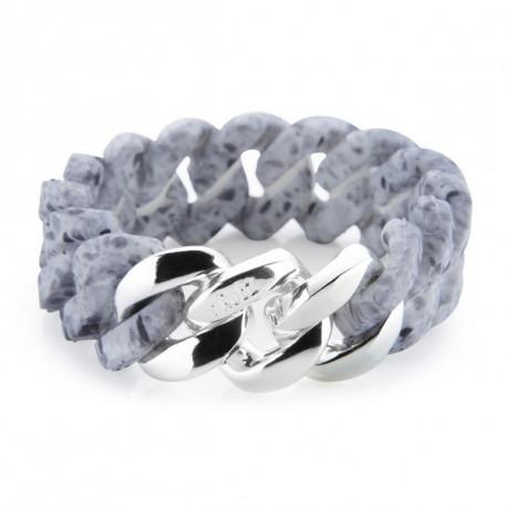 Damenarmreif TheRubz 03-100-217 Silberfarben