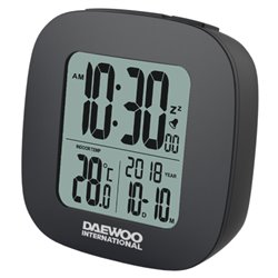 Radio Sveglia Daewoo DCD-26B LCD Bianco