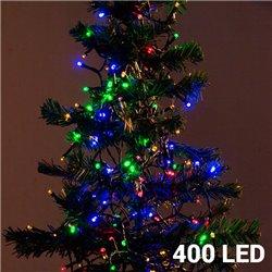 Luces de Navidad Multicolor Christmas Planet (400 LED)