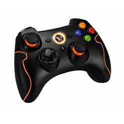 Controller Gaming Krom KHENSU Wireless PC / PS3 Nero