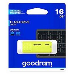 Memoria USB GoodRam UME2 USB 2.0 5 MB/s-20 MB/s Giallo 128 GB