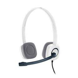 Auricolari con Microfono Logitech H150 Bianco