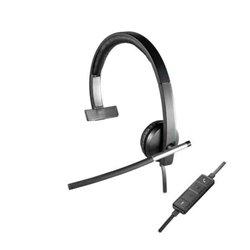 Auricolari con Microfono Logitech H650e Nero