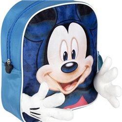 Zaino Scuola Mickey Mouse Azzurro (25 x 31 x 1 cm)