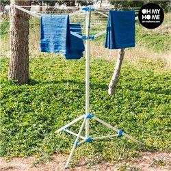 Tragbarer Klapp-Wäscheständer
