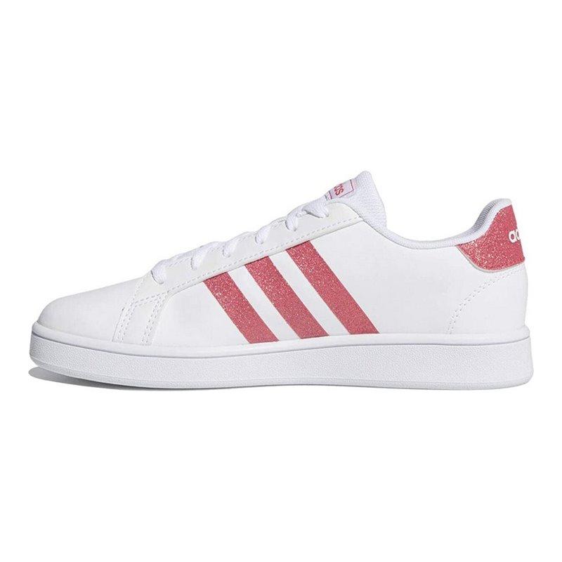 Adidas Chaussures de Sport pour Enfants GRAND COURT K EG5136 Blanc ...