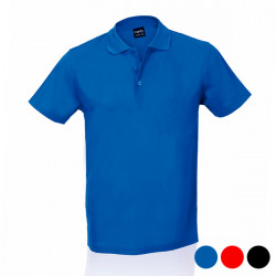 Men's Short Sleeve Polo Shirt 143580 Red M