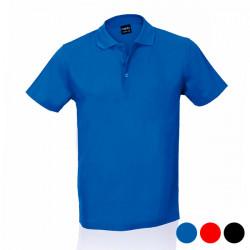 Herren Kurzarm-Poloshirt 143580 Schwarz S