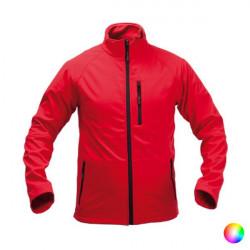 Chaqueta para Adultos Impermeable 143854 Rojo M