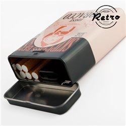 Retro Metallic Cigarette Case