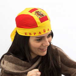 Spanish Flag Bandana Hat