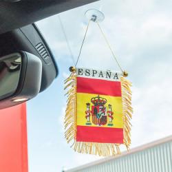 Fanion Espagne avec Ventouse