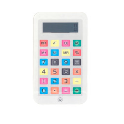Piccola Calcolatrice iTablet Bianco