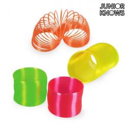 Espiral de Plástico Neón Junior Knows Azul