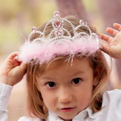 Diadème princesse pour petites filles