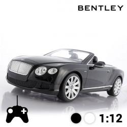 Carro Telecomandado Descapotável Bentley Continental GT Preto