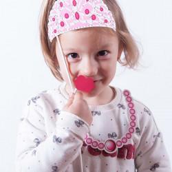 Prinzessinen-Accessoires für lustige Fotos (12er Packung)