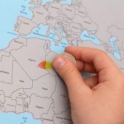 Mapa do Mundo para Raspar