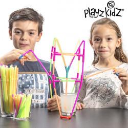 Gioco di Cannucce per Bere Playz Kidz (194 pezzi)