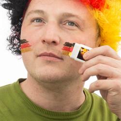 Pintura Facial Bandeira da Alemanha