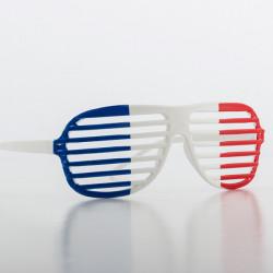 Shutter Shades Brille mit Frankreich-Flagge